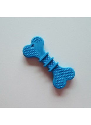Baby Bone Blue Teether